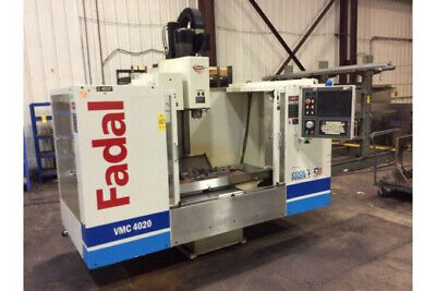 Fadal Model Vmc-4020 Cnc Vertical Machining Center Sn 012004046213 New 2004