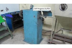Buffer/Polishing machine, Progress 2 HP, 220/3/60  electrics...