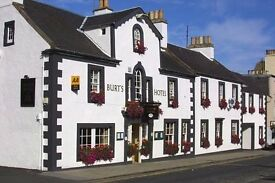 Pastry Chef. Live -in, Burt's Hotel, Melrose, Scottish Borders