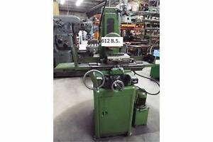 Boyer Shultz 6x12 hydraulic surface grinder