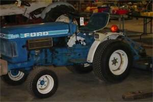 Mint Condition Ford 2WD 1110 Tractor