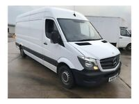 Sprinter Van and small Combo Van with drivers looking for regular distance work