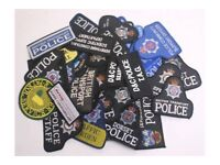 Wanted / Police Patches