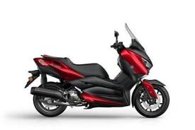 2018 YAMAHA XMAX 125  8.9% APR.  95 POUNDS OVER 48M WITH A 772 DEPOSIT.