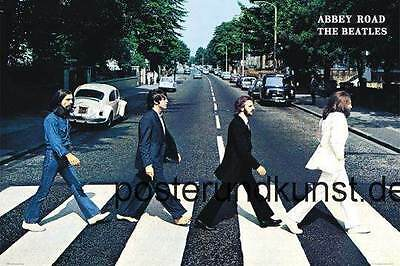 XXL-Poster Riesig BEATLES Abbey Road 140 x100 cm