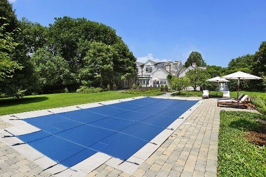 LinerWorld – MESH Winter SAFETY POOL COVER for 16'x32′ IN GROUND POOL Above-Ground Pools
