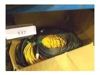 NEUTRIK 2 core XLR mic/speaker cables, 50m x 7, 5m x 2, 20m x 2, 10m x 5