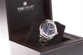 TAG Heuer Men's WJ201A. Link Caliber 5 Automatic Watch box papers