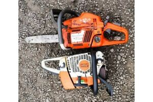 Wanted husqvarna stihl or jonsered chainsaws chainsaw