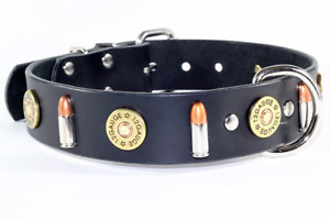 REAL LEATHER COLLARS WITH HEARTS AND SKULLS Prince George British Columbia image 5
