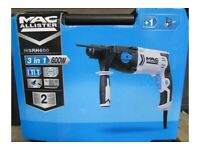 3 in 1 sds drill chisel new