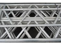 450mm Layher Aluminium Beams for Scaffold Projects