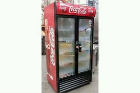 Coca-Cola commercial cans chiller fully working with guaranty good condition