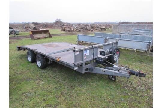 Wanted Ifor Williams beavertail trailer flatbed transporter repair project northern ireland