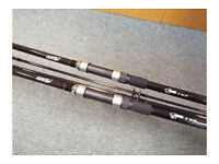 Fishing Rods (Nash Outlaw Carp Rods)