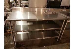 Restaurant Auction-Custom Stainless