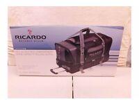 Ricardo Beverly Hills Luggage Essentials Wheeled Rolling Travel Duffle Bag BNIB