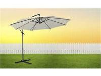 Garden Umbrella Parasol, Stand Base Large Patio Sun Shade