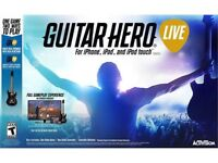 BRAND NEW GUITAR HERO LIVE FOR IPHONE IPAD AND IPOD TOUCH INCLUDES VIDEO