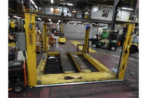20,000 Lb Capacity Forklevator Forklift Service Lift Model Fle-20w