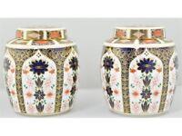 Crown Derby Ginger Jars