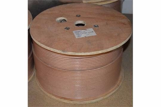 RG 400 50 ohm coax cable 362m Drum new and sealedin Daventry, NorthamptonshireGumtree - RG 400 Coax FEP 362m Drum new and sealed Works out at under £3 a meter, retails about £6.50 meter RoHs Compliant PO75413 Flexible RG400 Coax Cable Double Shielded with Tan FEP Jacket Generic Name RG400 Flex Type Flexible Impedance 50 Ohm Dielectric...