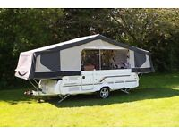 WANTED PENNINE & CONWAY FOLDING CAMPERS