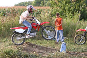 Wanted Youth Dirt/Trail Motorbike