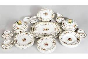 Discontinued Spode Rockingham Pattern Dishes
