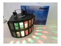 PROSOUND DOUBLE LAYER DJ LED LIGHT WITH DMX, MODEL N77KF central London bargain
