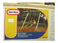 New boxed Little Tikes Riga swing set with ladder play