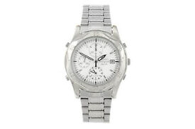 SEIKO - a gentleman's SQ 50 chronograph bracelet watch 7T32-7EOO AS NEW