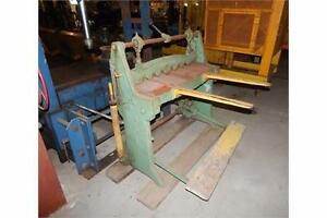 Shear 3ft x 16 ga. Brown and Boggs mechanical foot shear