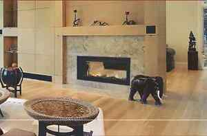 """LIMITED SERIES  48""""  SEE-THRU LINEAR Fireplace"""