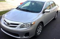 2013 TOYOTA COROLLA // ONLY 11,000KMS // AUTO // SILVER COLOR //