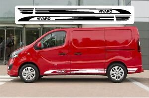 VAUXHALL VIVARO SWB 2014-2018 Van, Camper GRAPHICS STICKERS DECALS