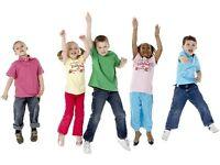Part time children exercise coach