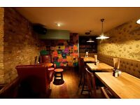 Restaurant / bookings manager needed for busy city pub. Immediate start