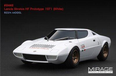 RARE! HPI #8448 Lancia Stratos HF Prototype 1971 White Integrale WRC 1/43 Model