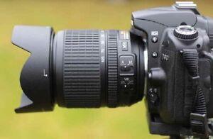 Nikon d7000 + nikkor 18-105mm