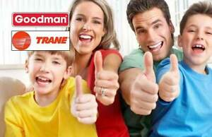 GOODMAN Furnaces & Air Conditioners - Rent to Own - FREE INstall