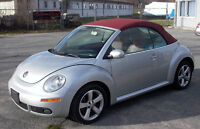 2009 Volkswagen New Beetle HIGHLINE Convertible