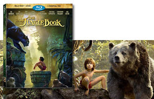 Disney's Jungle Book 2016 Blu-ray & Dvd