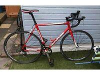 Cannondale CAAD 8 Road bike with Mavic Wheels