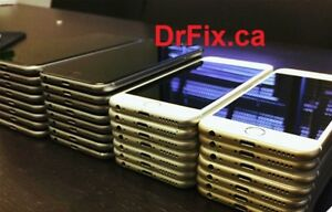 iPhone & Samsung cell phone for sale by store. with WTY