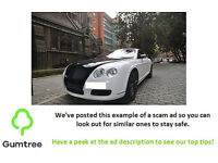 2004 Bentley Continental GT 6.0i -- Read the ad description before replying!!