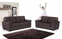 Brand New pu Leather Bed.Grand Bonded Leather 3+2 Sofa Lounge Seven Hills Blacktown Area Preview