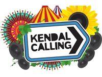 Kendal Calling & Emperor's field tickets!