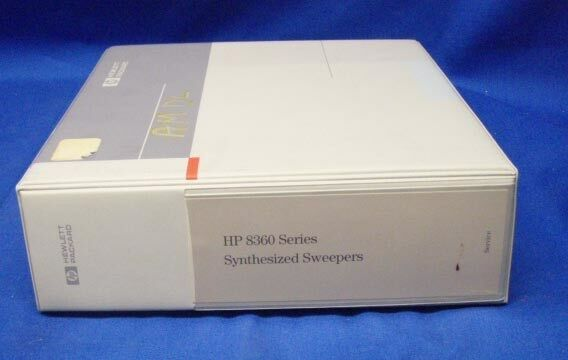 HP 8360 Series Synthesized Sweepers SERVICE Manual