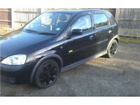2002 Vauxhall corsa SXI with only 55,000 miles + Private plate